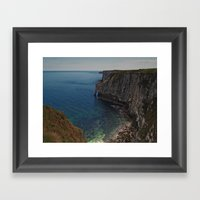 Bempton Cliffs 2 Framed Art Print