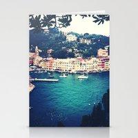 A Vintage Day In Portofi… Stationery Cards