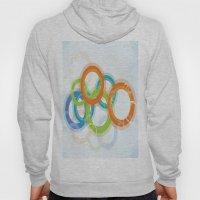 Digital Geometric Circles Hoody