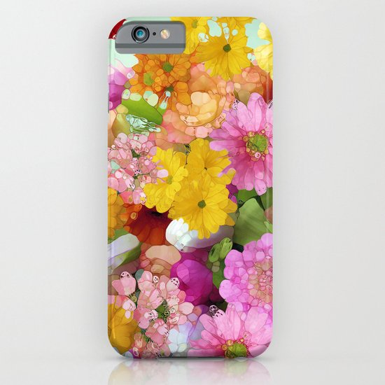May the Flowers Be With You iPhone & iPod Case