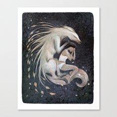 Wolf Sleep Canvas Print