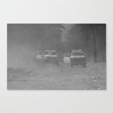 Smoke Haze Canvas Print