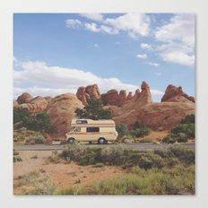 Rock Camper Canvas Print
