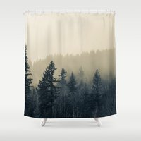 Mists of Noon Shower Curtain