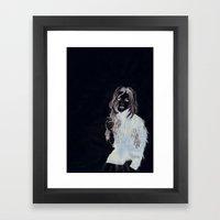 Its Just A Jacket Framed Art Print