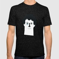 Rocky Balboa Mens Fitted Tee Tri-Black SMALL
