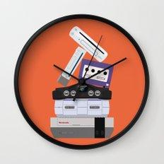 Nintendo Consoles Wall Clock