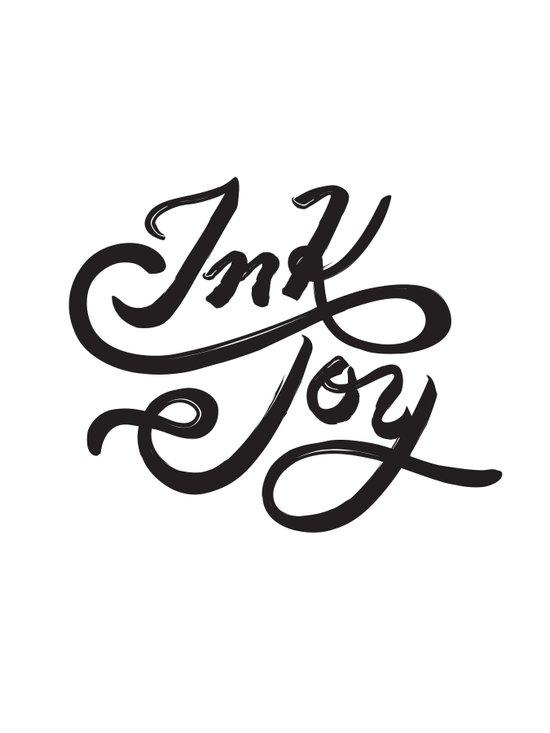 Ink Joy Art Print