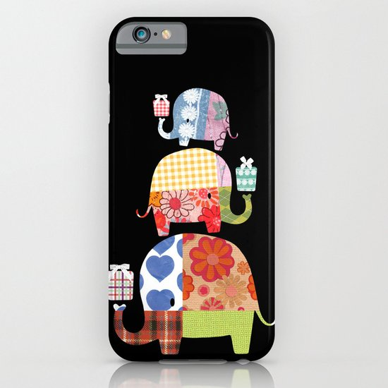 Patchwork Elephants - Gifts iPhone & iPod Case