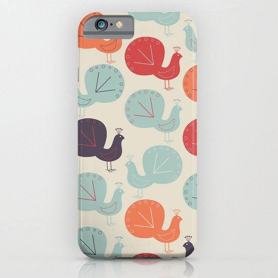 Peacock Pattern iPhone & iPod Case