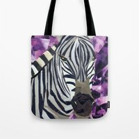 Zebra! Tote Bag