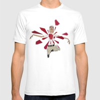 In Space No One Can Hear… Mens Fitted Tee White SMALL