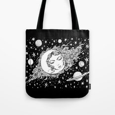 Midnight Muse Moon Love Tote Bag
