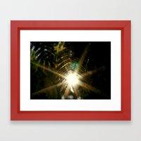 Shine Through Framed Art Print