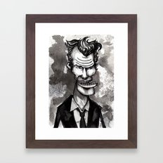 Tom Waits Framed Art Print