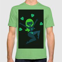 Dr Sketchy's Anti-Art School Mens Fitted Tee Grass SMALL