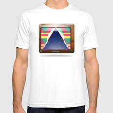Kaleidoscope TV version C Mens Fitted Tee White SMALL