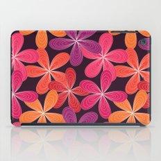 Hippie Orange and pink flowers  iPad Case
