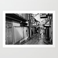 Pontocho In The Morning,… Art Print