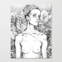 Self Portrait As A Beaut… Canvas Print