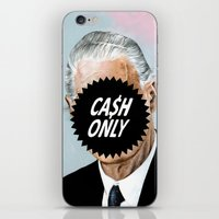 CA$H ONLY iPhone & iPod Skin
