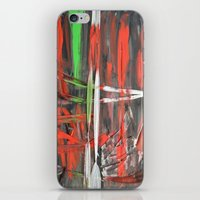 Scars iPhone & iPod Skin