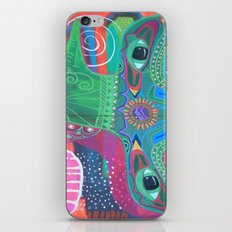 Whale of a Bird iPhone & iPod Skin