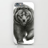 iPhone & iPod Case featuring Brown Bear SK068 by S-Schukina