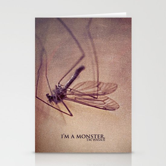 I'm.a.Monster. Stationery Card