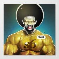 Sixman Canvas Print