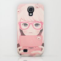Galaxy S4 Cases featuring 「Gamegirl Girl」  by kaoru hasegawa