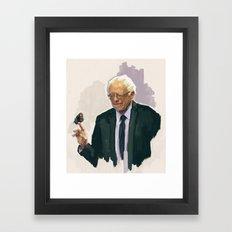 Birdie Sanders Framed Art Print