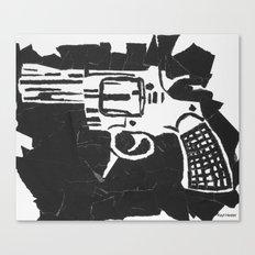 Gun. Canvas Print