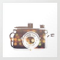 camera print Art Print