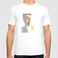 Dotts Mens Fitted Tee White SMALL