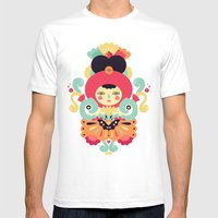 Keiko Mens Fitted Tee White SMALL