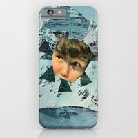 iPhone & iPod Case featuring Child in the Wild Snow by Alicia Ortiz