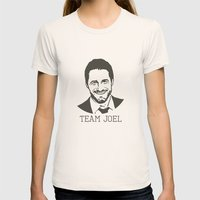 Team Joel Womens Fitted Tee Natural SMALL