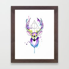 Harry Potter Patronus Framed Art Print