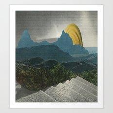 Artificial Landscape 1 Art Print