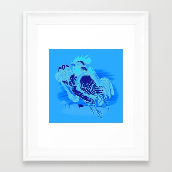 Aerial Perspective Framed Art Print