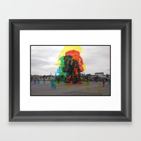 Sequential Serie : The Symbol Framed Art Print