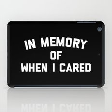 Memory When Cared Funny … iPad Case