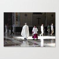 Vatican Rome Canvas Print