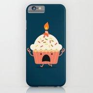 Cupcake On Fire iPhone 6 Slim Case