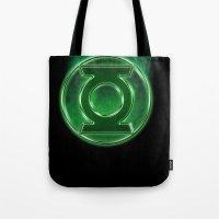 Green Lantern Spectre Tote Bag