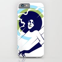 iPhone & iPod Case featuring Retropolitan (cool) by Tom Burns