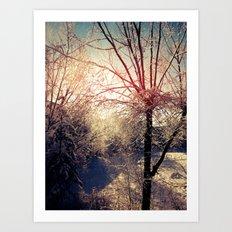 Snow Day 2 Art Print