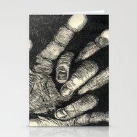 Etched Hand #1 Stationery Cards