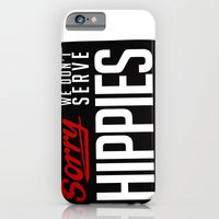 iPhone & iPod Case featuring No-Hippies  by Toro Lobo